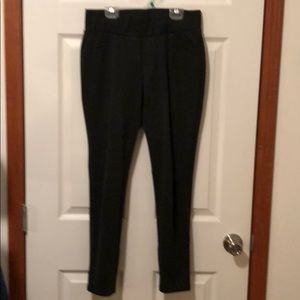 Pants - Sophia Vergara dark gray straight leggings size M